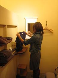 2.着替え(治療する個室にて治療着にお着替えいただきます)