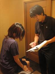 5.説明(治療に入る前に症状の原因や治療方針について説明します。)